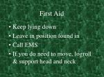 first aid39