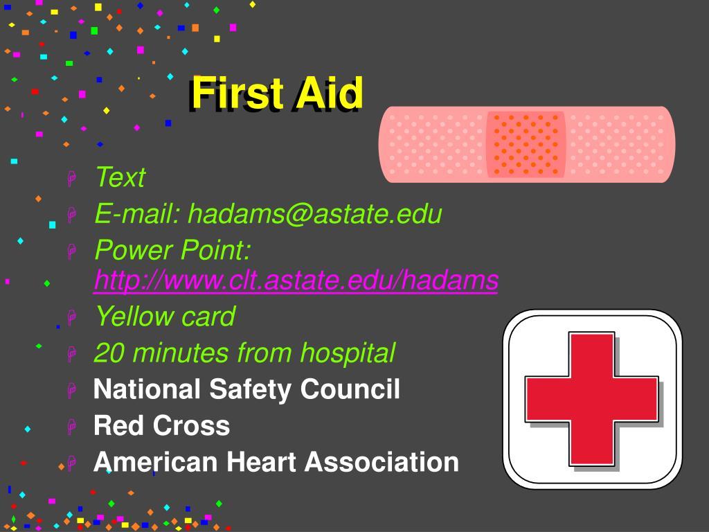 first aid l.