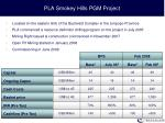 pla smokey hills pgm project