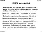 jbmc2 value added