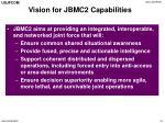 vision for jbmc2 capabilities