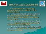 epa 404 b 1 guidelines21