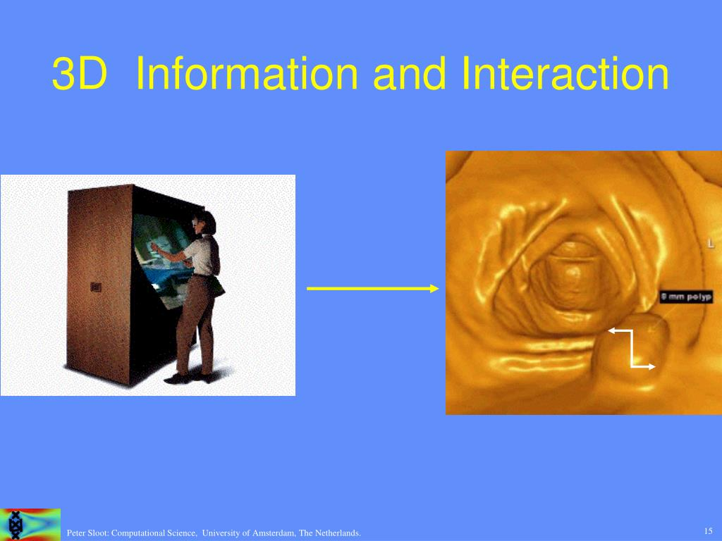 3D  Information and Interaction