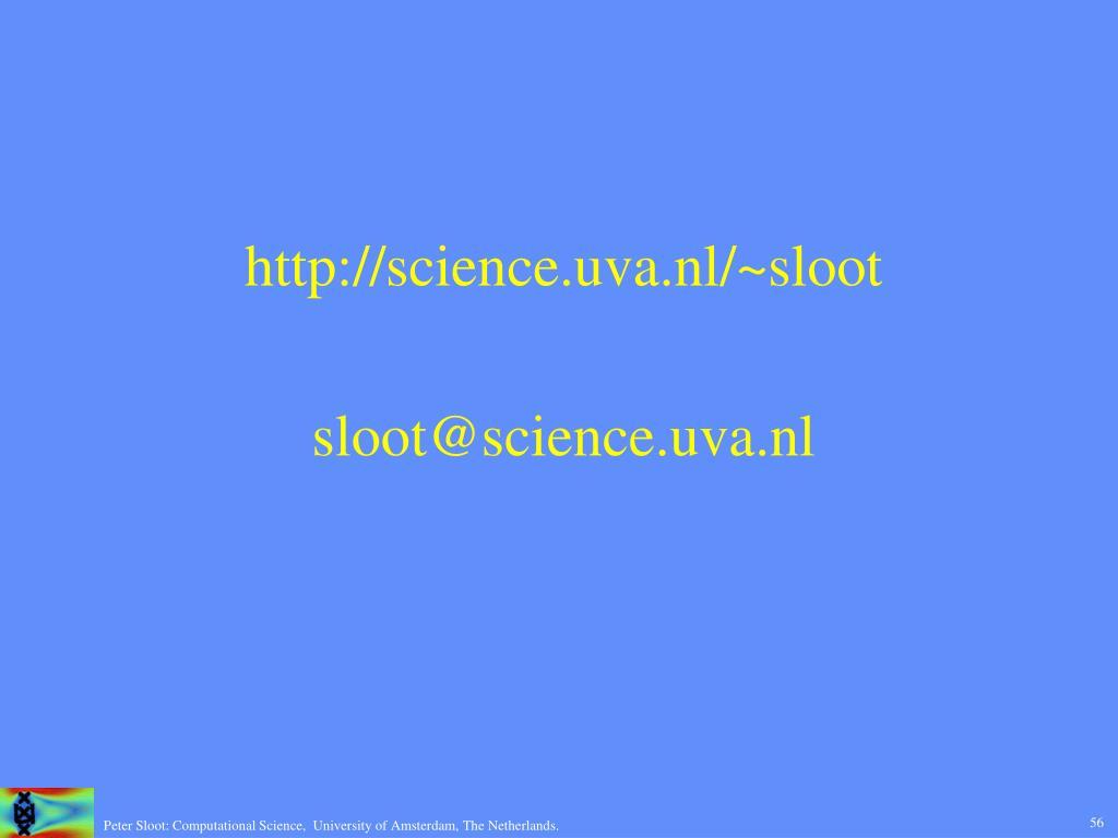 http://science.uva.nl/~sloot