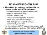 aelw airspace tra r902