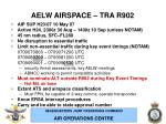 aelw airspace tra r90211