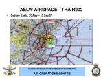 aelw airspace tra r9028