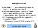 military activities14