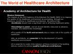 the world of healthcare architecture7