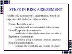 steps in risk assessment