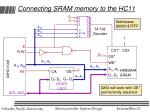 connecting sram memory to the hc11