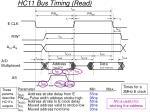 hc11 bus timing read37