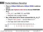 partial address decoding