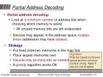 partial address decoding22