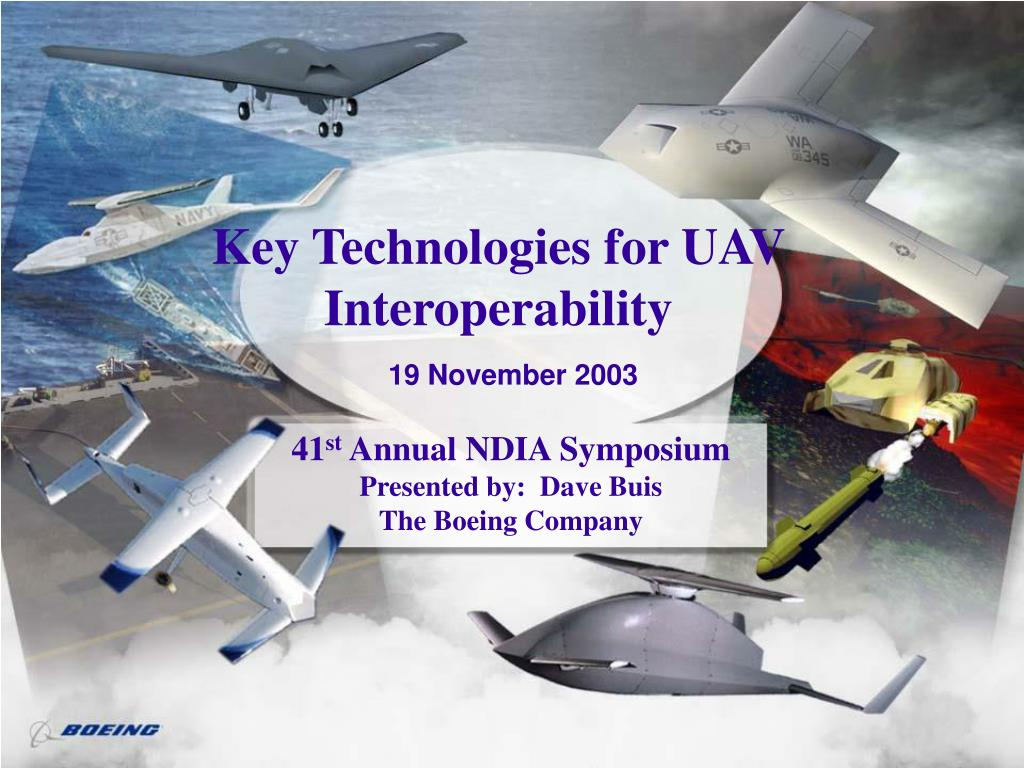 key technologies for uav interoperability l.