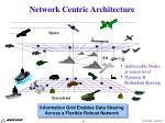 network centric architecture