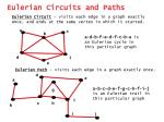 eulerian circuits and paths