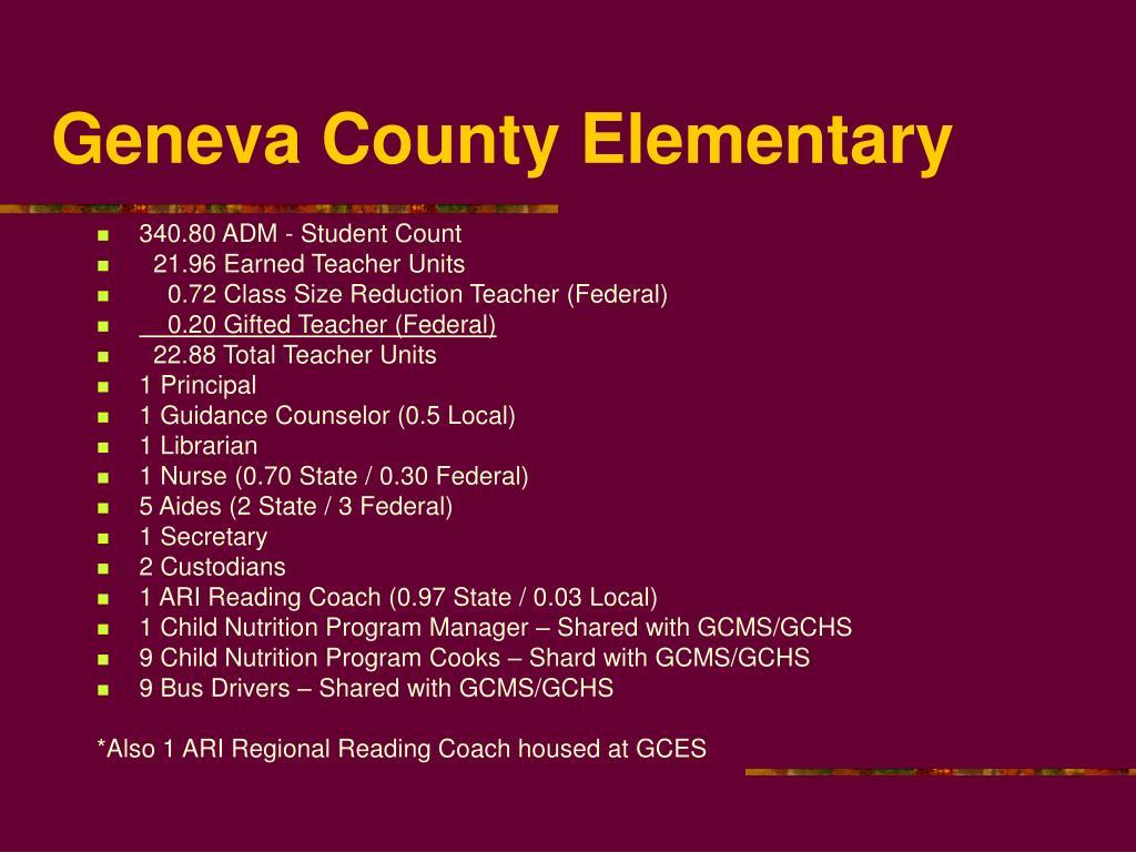 Geneva County Elementary