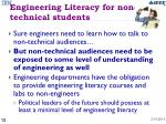 engineering literacy for non technical students