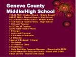 geneva county middle high school