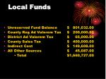 local funds