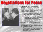 negotiations for peace33