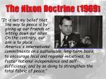 the nixon doctrine 1969