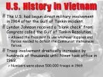 u s history in vietnam