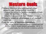 western goals