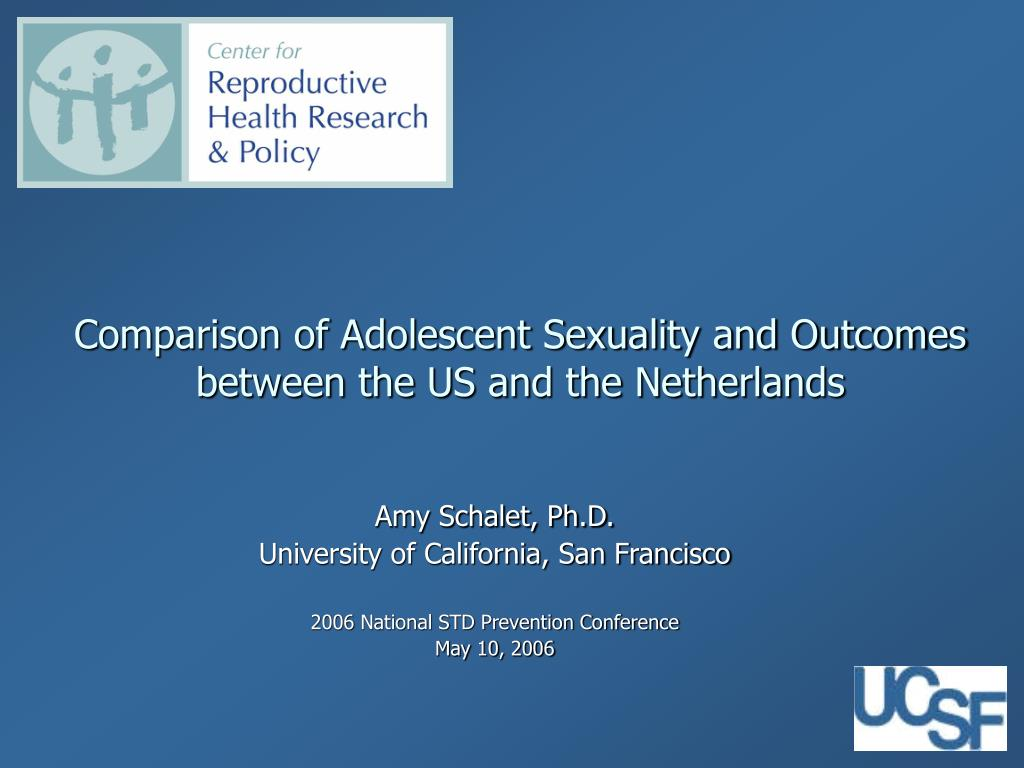 comparison of adolescent sexuality and outcomes between the us and the netherlands l.