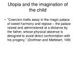 utopia and the imagination of the child