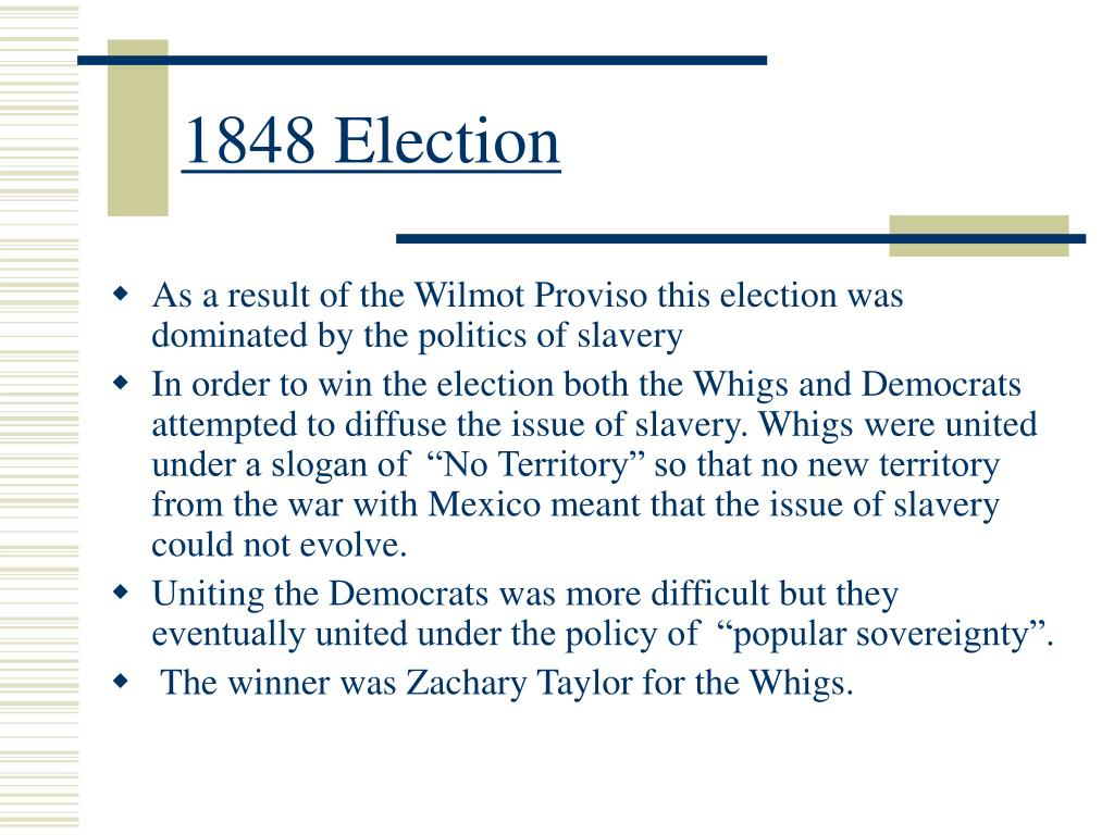 1848 Election