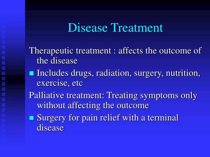 Disease Treatment
