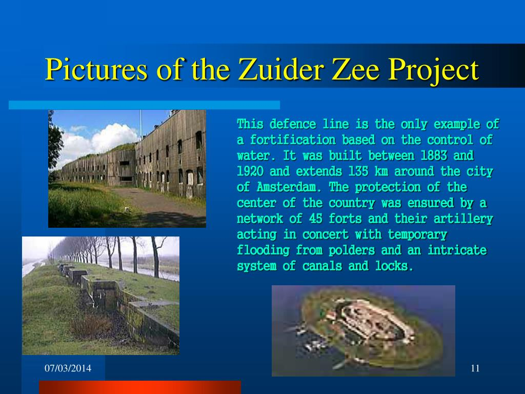 Pictures of the Zuider Zee Project