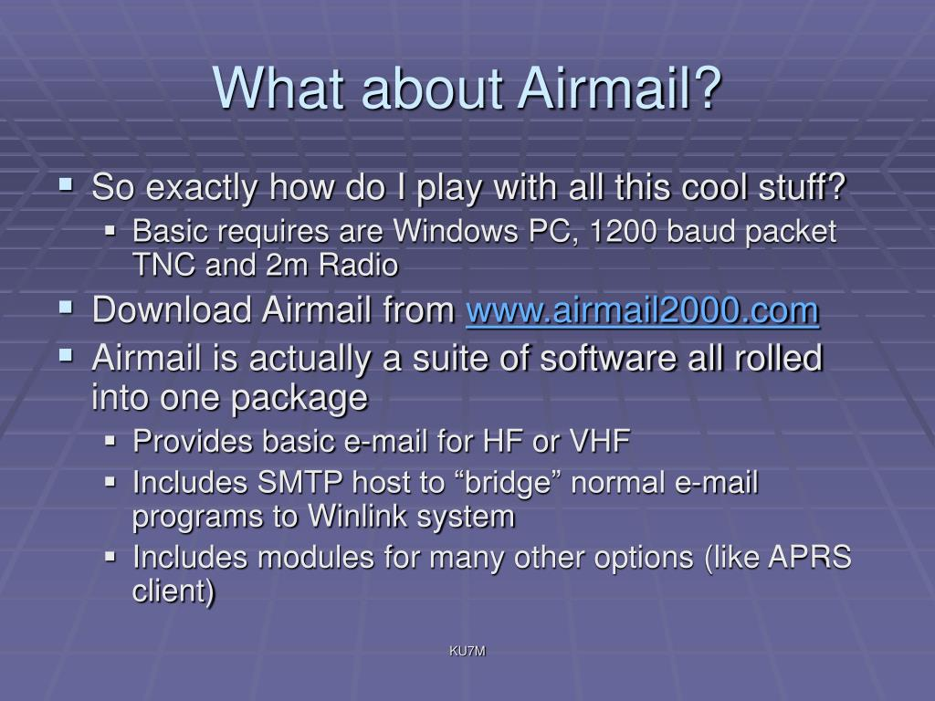 What about Airmail?