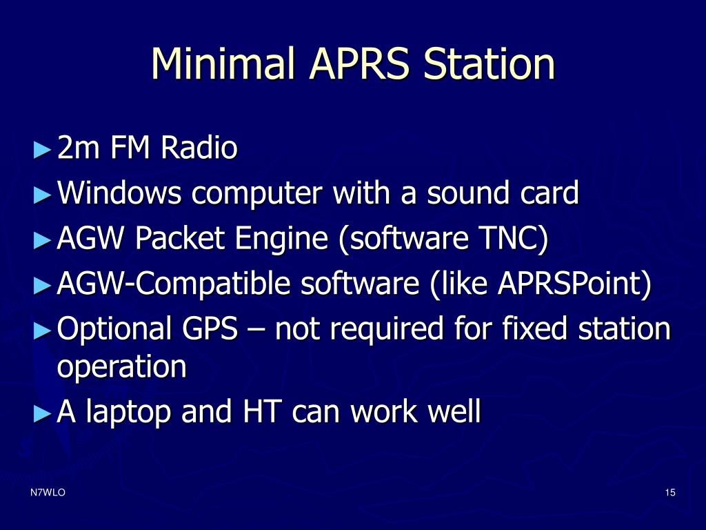 Minimal APRS Station