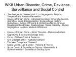 wk8 urban disorder crime deviance surveillance and social control