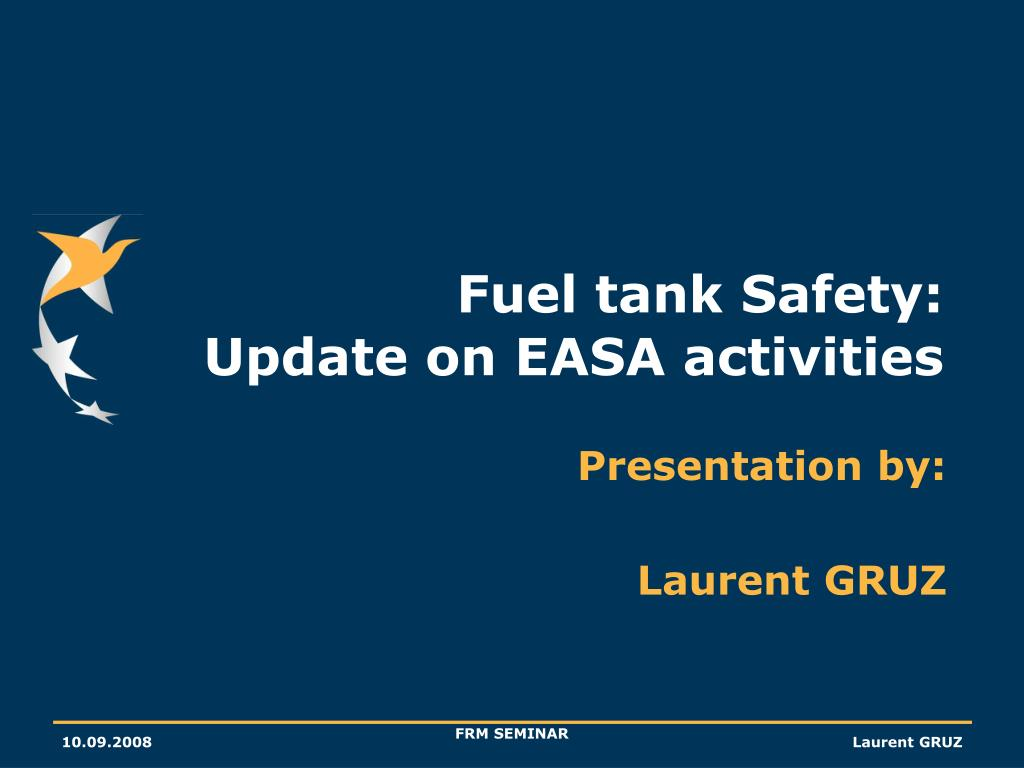 fuel tank safety update on easa activities l.