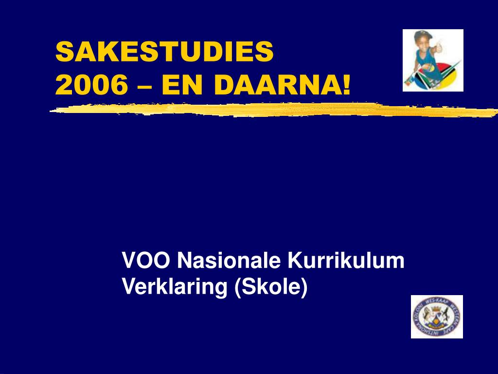 sakestudies 2006 en daarna l.