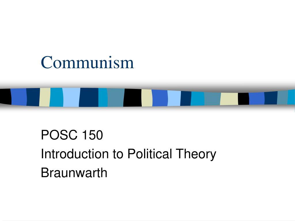 communism l.