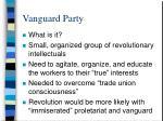 vanguard party