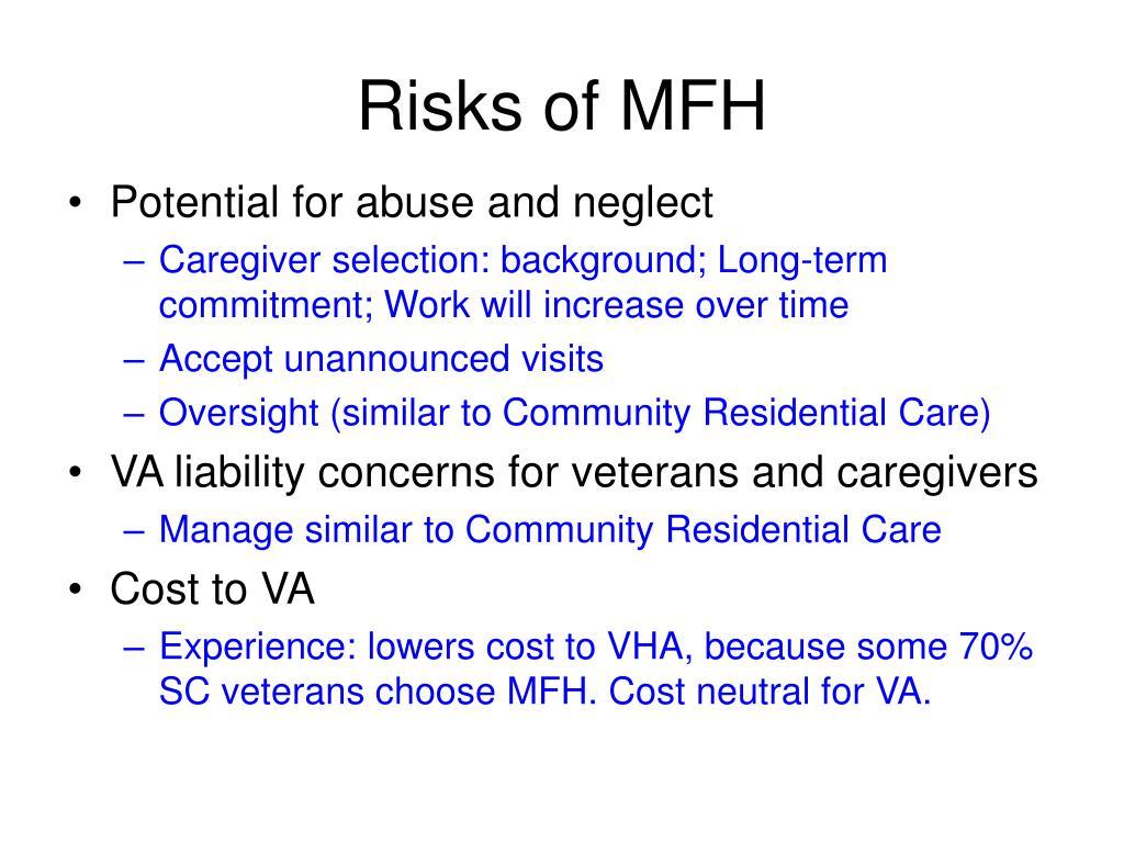 Risks of MFH