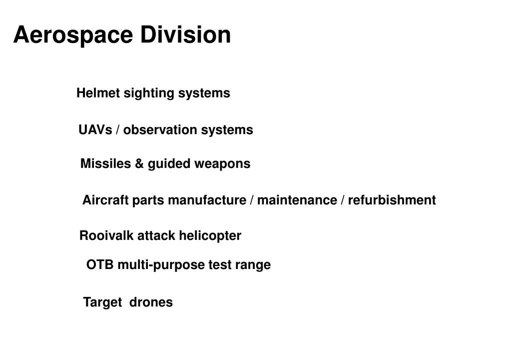 Aerospace Division