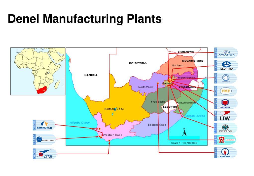 Denel Manufacturing Plants