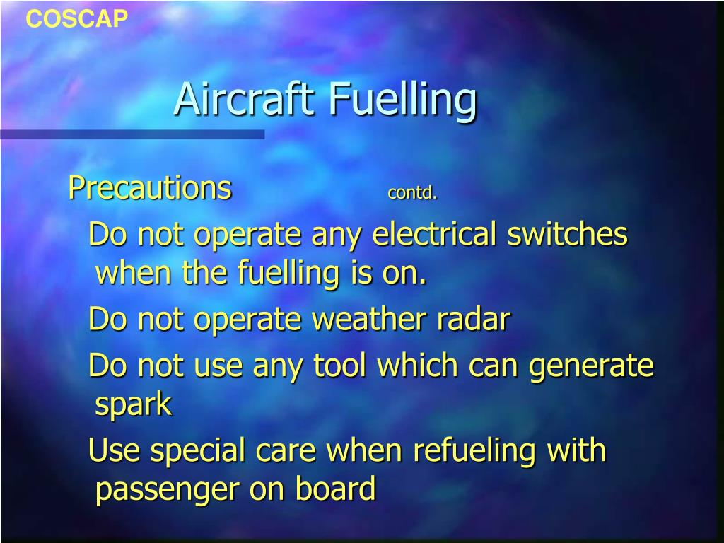 Aircraft Fuelling