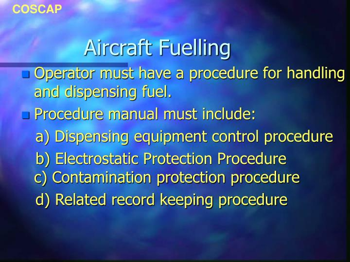 Aircraft fuelling2