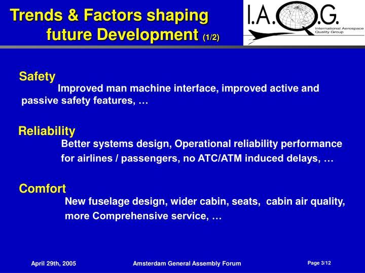 Trends factors shaping future development 1 2