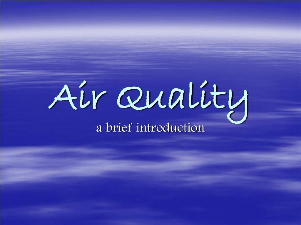 air quality l.
