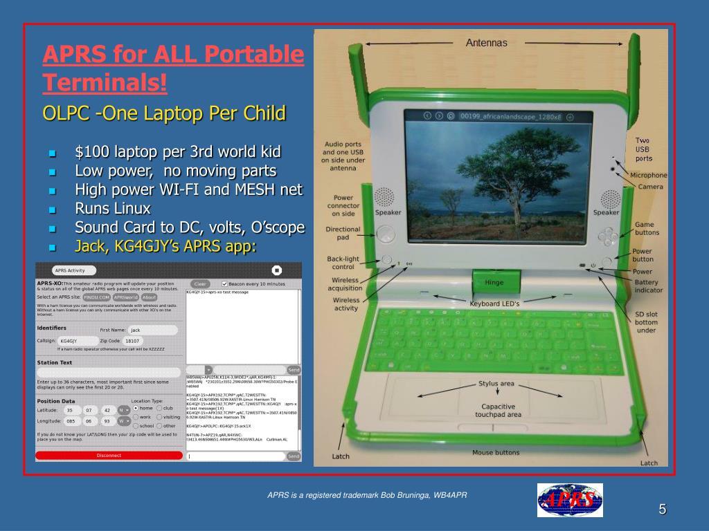 OLPC -One Laptop Per Child