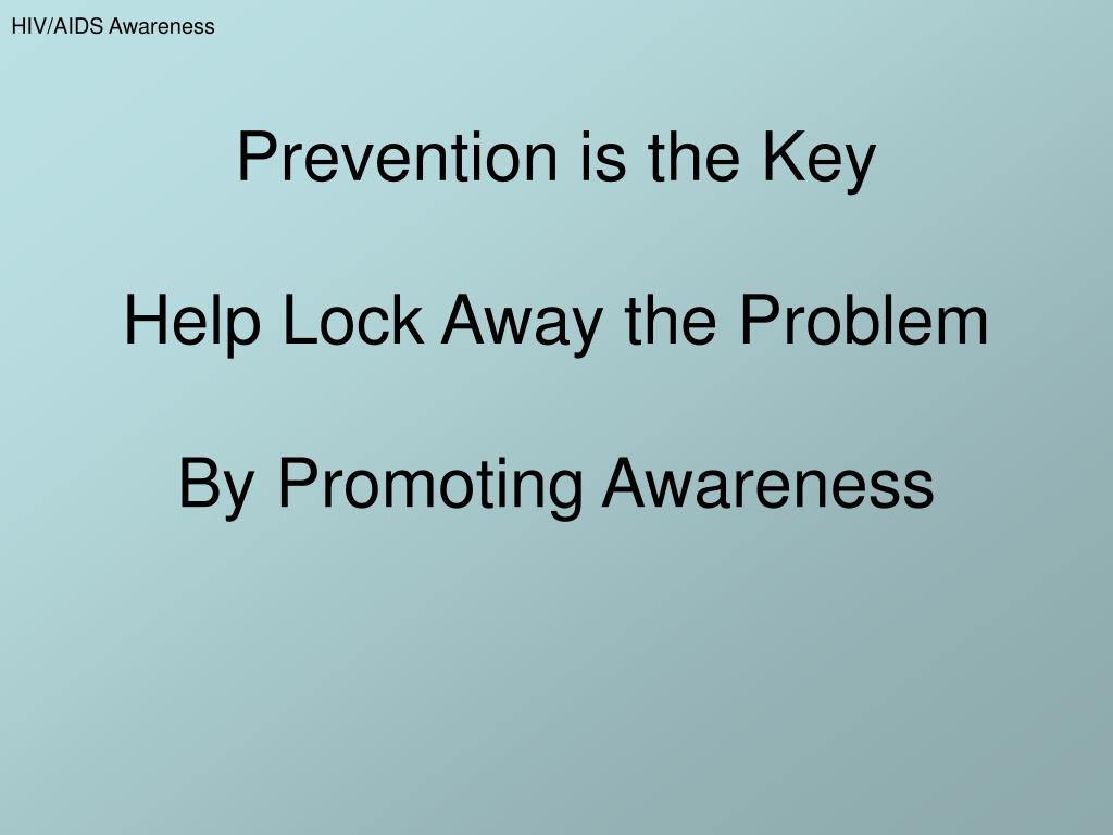 Prevention is the Key